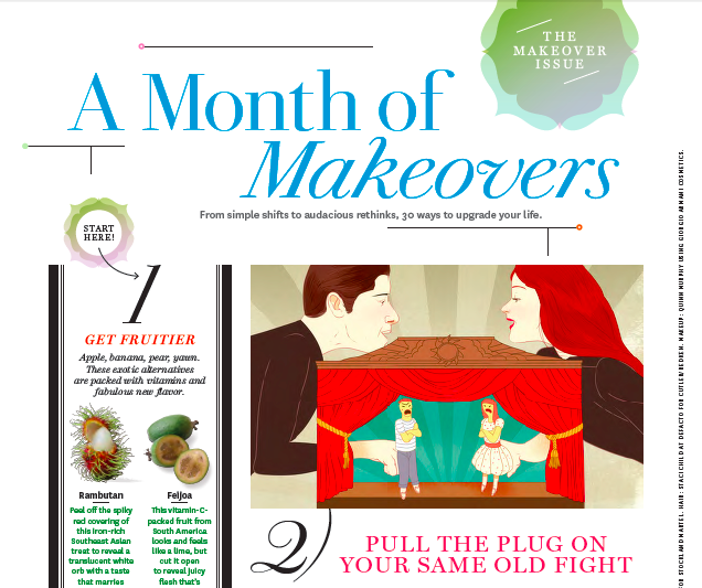 A Month of Makeovers