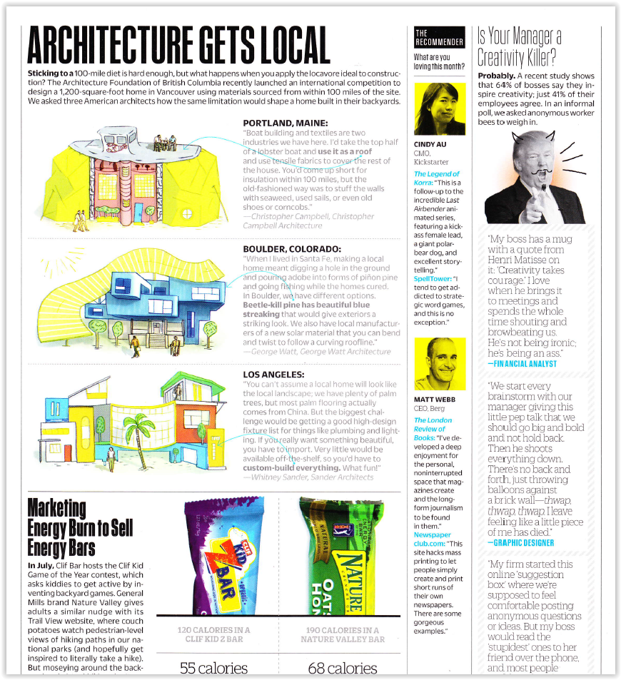 Architecture Gets Local