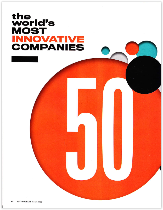 The World's 50 Most Innovative Companies