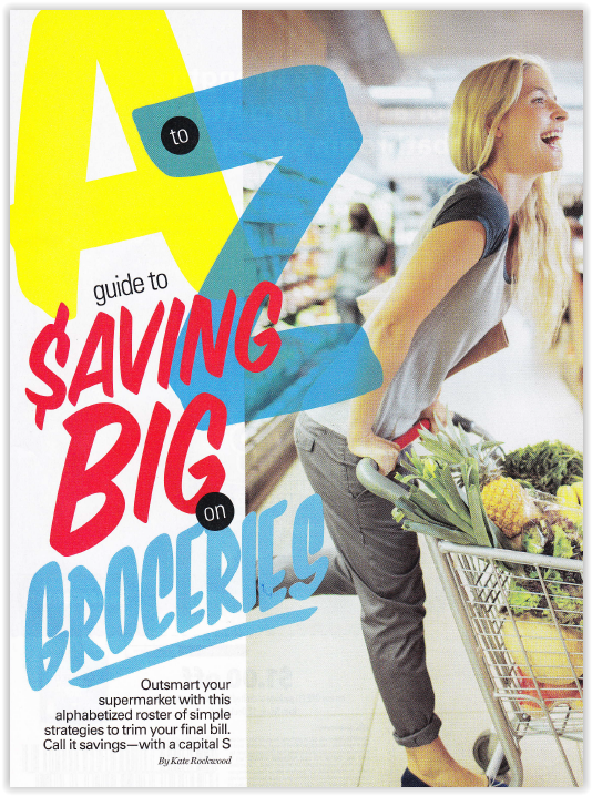 A to Z Guide to Saving Big on Groceries