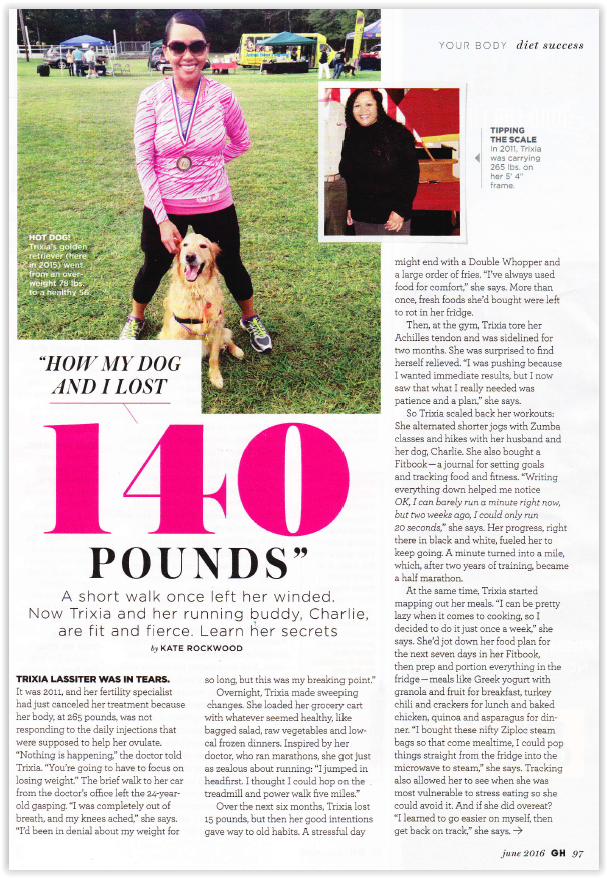 How My Dog and I Lost 140 Pounds